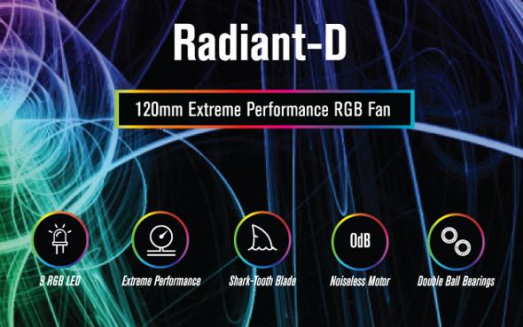 RADIANT-D ARGB Fan