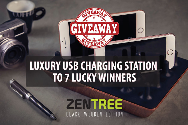 Zentree USB Charger Giveaway