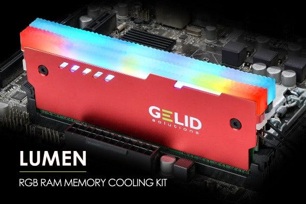 Lumen RGB RAM Cooler